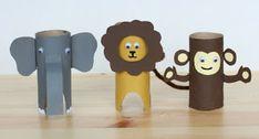 Baby Crafts, Toddler Crafts, Preschool Crafts, Diy Crafts For Kids, Arts And Crafts, Toilet Paper Roll Crafts, Cardboard Crafts, Circus Crafts, Crochet For Kids