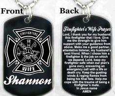 I Love My Firefighter Firefighters Girlfriend