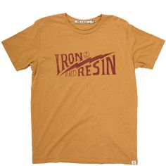 Bolted T-Shirt By Iron and Resin