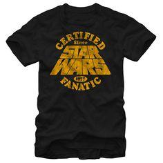 Star Wars Certified Fanatic T Shirt, Hoodie, Tee Shirts ==► Shopping Now!