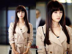 Beautiful KimJiWon as Rachel Yoo in TheHeirs . Heirs Korean Drama, Korean Drama Movies, The Heirs, Korean Dramas, Tv Show Outfits, Party Outfits, Kim Ji Won, Kdrama Actors, Cute Beauty