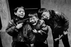 Marc Riboud 1995 CHINA. Shanghai. 1995.