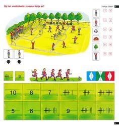 Mini Loco boekje: Eerste sommen, Voetbal (rekenspelletjes) Noordhoff - mini loco - educatief op Spelmagazijn
