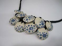 colgante ceramica