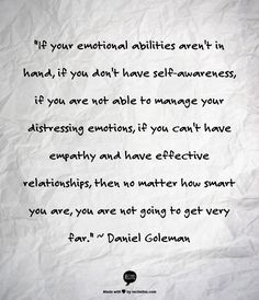 7 Quotes about Emotional Intelligence to Make You Think ... | All ...