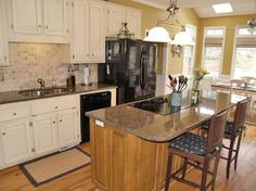 1000 images about kitchen on pinterest oak cabinets for Suggested colors for kitchens