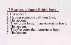 7 reasons to date a British boy