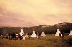 The Annual Rainbow Family Gathering is celebrated during the first week of July (1st - 7th) and is hosted in a different National Forest within the United States.