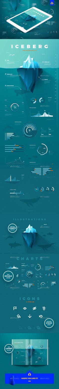 Iceberg infographic - Infographics
