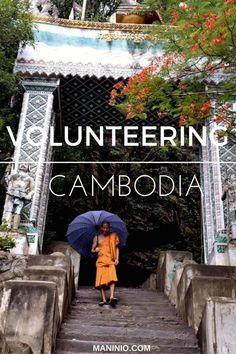 volunteering - cambodia - maninio - asia