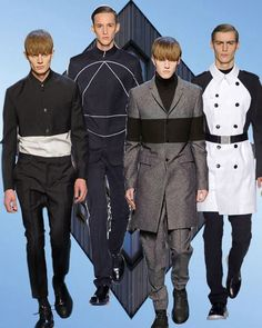Mens fashion trend forecast: Fall-Winter 2014/2015 themes from TREND COUNCIL Modernist leanings