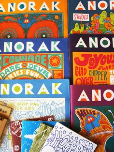 Not a book, per se, but Anorak Magazine is very awesome. And the people making it are too!: http://shop.anorakmagazine.com/