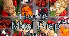 When trying to eat clean, food prepping is one of my best tips to do so.When your food is already ready to go, its hard to say no. Hen...
