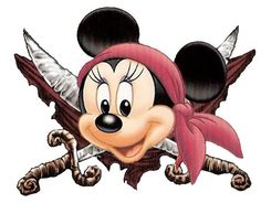 mickey pirate clipart - Google Search