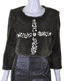 Military Fluffy Top