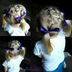 Toddlers elastic style # gymnastichair #sportshair
