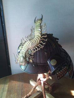 兜の前立て Japanese Mask, Japanese Warrior, Japanese Sword, Samurai Helmet, Samurai Warrior, Korean Art, Asian Art, Samourai Tattoo, John Johnson