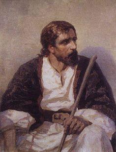 Сидящий Христос. 1880-е. Василий Дмитриевич Поленов