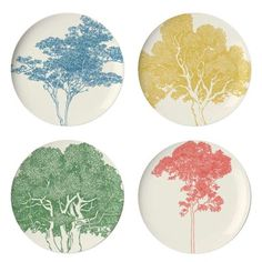These are just adorable, would make a nice gift for someone...:) Thomas Paul Portland Dinner Plate (Set of 4)