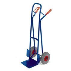 GTARDO.DE:  Stapelkarre, Tragkraft 250 kg, Luft, Maße 530x600 mm, Schaufel 300x225 mm 112,00 €