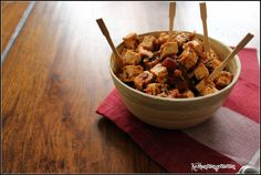 Keskonmangemaman?: Tofu en escabèche