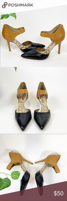 efe4f004079 Sam Edelman - Della - Ankle Strap Pump - size Sam Edelman leather ankle  strap pumps