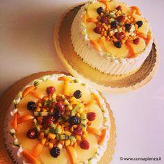 Torta di frutta #cakes #fruit