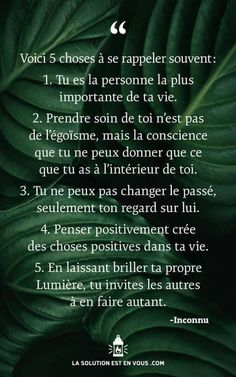 Positive Mind, Positive Attitude, Affirmations Positives, Motivational Speeches, French Quotes, My Mood, Yoga, Self Improvement, Words Quotes