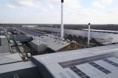 Bentley Motors is installing the UK's largest roof mounted solar panel system.