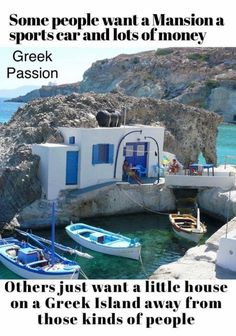 Where do you want your little house? Greece Vacation, Greece Travel, Funny Images, Funny Pictures, Family Rules, Lots Of Money, Kinds Of People, Greek Islands, Us Travel