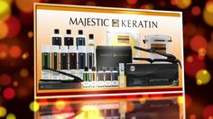 All what you need to learn about Majestic Keratin, all about hair straightening, smoothing and treating, how to use it in Home, watch the video !