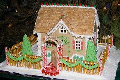 BX815 Gingerbread House   by listentoreason