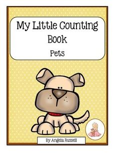 This is a cute11 page counting book. Students will count the pets and complete the sentence. Then, they can color the pictures. This is a wonderful product to add to a Math Center or to a Animal Unit. Numbers used are 1-10.