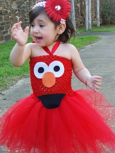 Infant-Red Elmo Tutu Dress Inspired by TotsBoutique on Etsy Toddler Halloween Costumes, Halloween Party, Halloween 2018, Halloween Crafts, Halloween Ideas, Happy Halloween, Elmo Birthday, Girl Birthday, Birthday Ideas