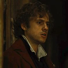 Enjolras in 'Drink With Me'...he knows what's coming better than any of the other boys...
