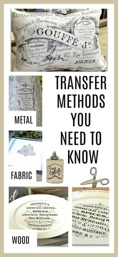 If you're looking for the best transfer method for your next project look no further. I've tried 6 and I will show you what I know. Homeroad.net #transfer #diy #farmhouse