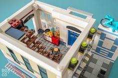 LEGO Bike Shop & Café 31026 MOD and Alternate Build Apartment