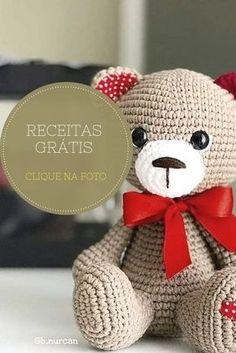 Aprende como hacer amigurumi paso a paso perro de crochet. Easter Bunny Crochet Pattern, Crochet Bear Patterns, Giraffe Crochet, Crochet Rabbit, Crochet Teddy, Cute Crochet, Amigurumi Patterns, Doll Patterns, Diy Crafts Crochet