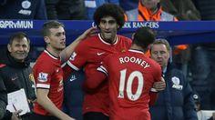 Man United ganó 2-0 al QPR. Enero 17, 2015.