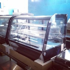 RTW160L Countertop cake showcase with LED lights now available. #cebu #food #bakery #pastry #cakeshowcase #coffeeshop