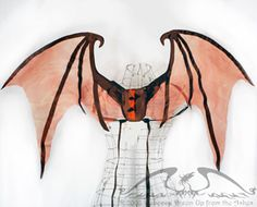 Wearable dragon wings, tail optional at Up From The Ashes $90-$135