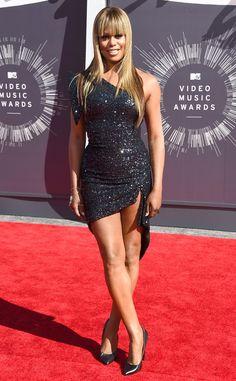 Laverne Cox- 2014 MTV Video Music Awards Red Carpet Arrivals