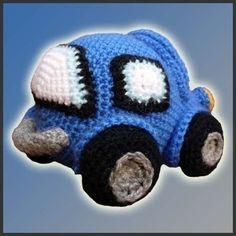 Amigurumi Pattern Crochet Little Car DIY Digital Download