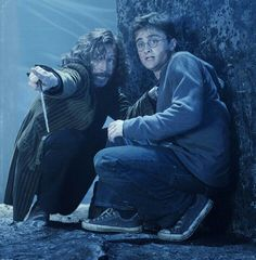*Sirius Black and Harry Potter* My two favorite Harry Potter characters <3