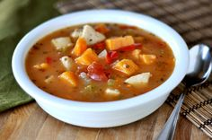 Spicy {Or Not} Chicken and Sweet Potato Soup Recipe on Yummly