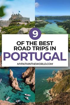Portugal road trip ideas: 9 best road trips in Portugal including helpful travel tips Portugal Porto, Visit Portugal, Spain And Portugal, Portugal Trip, Portugal Travel Guide, Europe Travel Guide, Travel Guides, Backpacking Europe, Travel Abroad