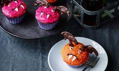 Flagermus-cupcakes opskrift | Dr. Oetker