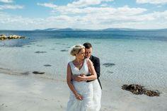 Check out the stunning work of creative Dublin wedding photographer Larry McMahon. Wedding Portraits, Dublin, Larry, White Dress, Wedding Photography, Castle, Sea, Weddings, Dresses