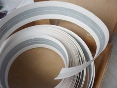 """use to strengthen bracelets- drywall corner reinforcement tape Consists of a strip of paper on which are pasted two alluminum strip with a width of 1 cm.  It is hard enough, but can be cut with scissors, has """"memory"""" if the tape to twist and hold in a twisted position, it """"remembers"""" it and keeps this form.  Here at the heart of another """"puppet"""" CERN, he translucent and translucent strips of alluminum. Flexible bracelet."""