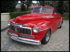 1948 Mercury Convertible Street Rod 460/660 HP, Hot Rod Cover Car